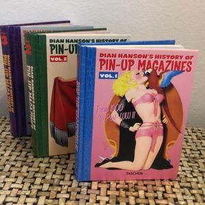 Taschen 3 Volume Pin Up Magazine Books